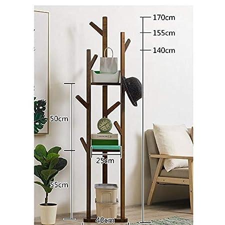 Perchero de madera for árboles Estante for percheros con ...