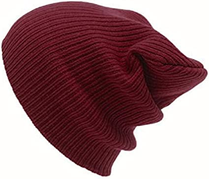 Men/'s New Skateboard Ski Unisex Warm Hip-Hop Slouch Knit Hat Cap Winter Beanie