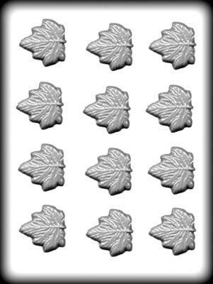 Maple Leaves Hard Candy Mold ()