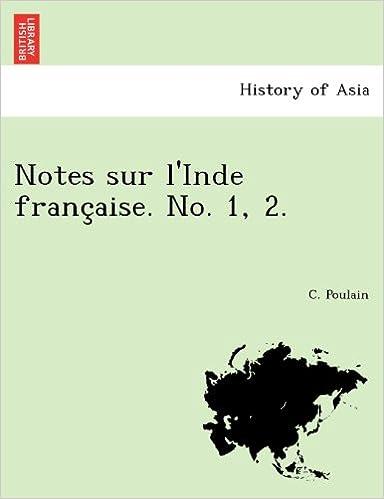 Book Notes sur l'Inde française. No. 1, 2.