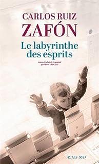 Le labyrinthe des esprits [2 CDs], Ruiz Zafón, Carlos