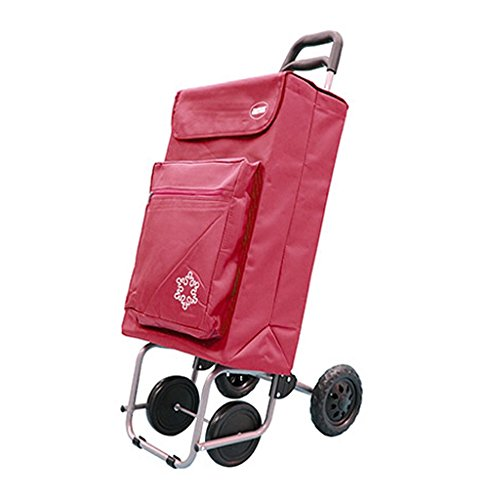 Amig Cart Shopping 4Rフラスコレッド   B019H2XXYG