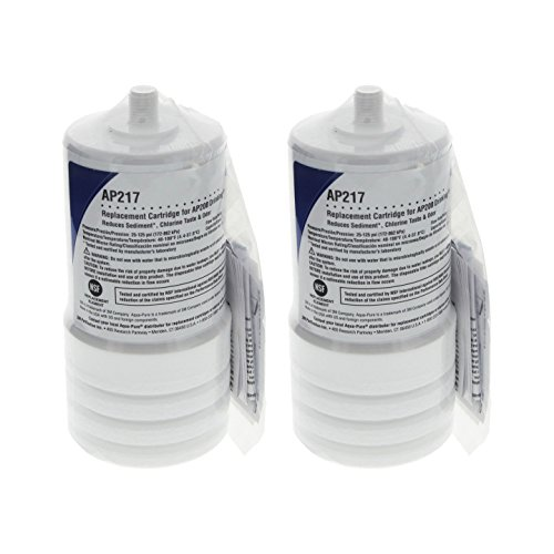 Aqua-Pure AP217 4629002 Under Sink Replacement Filter Cartridge (Pack of 2) (Ap217 Replacement)
