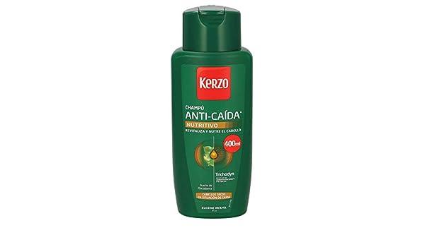KERZO champú anticaída nutritivo cabellos secos bote 400 ml ...