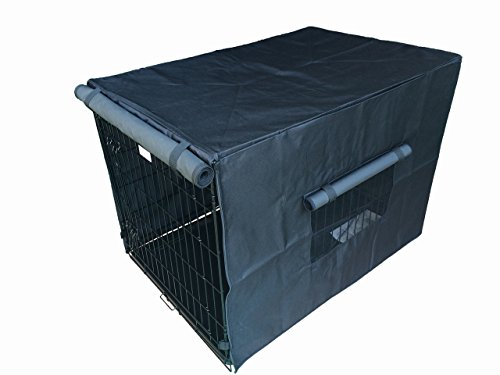 Dogwidgets Dog Crate Kennel Cover 36″ Large Size Waterproof Heavy Duty