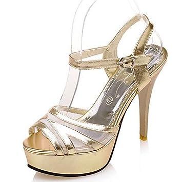 CH&TOU Women's Shoes Stiletto Heel Heels/Platform/Sling back/Open Toe  Sandals Party