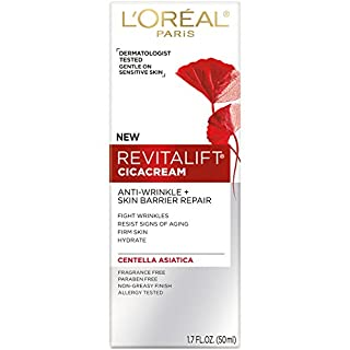 L'Oréal Paris Revitalift Cicacream Anti-Wrinkle + Skin Barrier Repair, 1.7 fl oz -PACK OF 2
