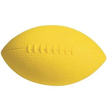 S&S Worldwide UM115-Y Balón de fútbol de espuma revestida, tamaño ...