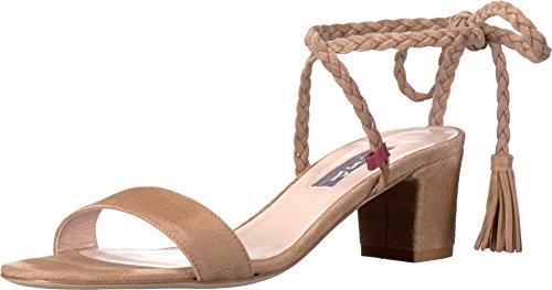Sjp Di Sarah Jessica Parker Donna Elope Dress Sandalo In Pelle Scamosciata Taffy