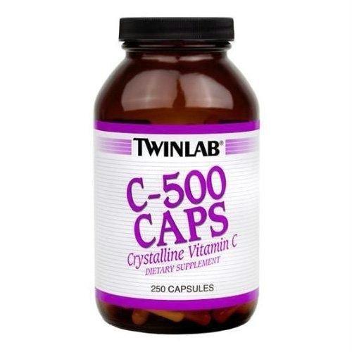 TWINLAB C-500, 250 CAP