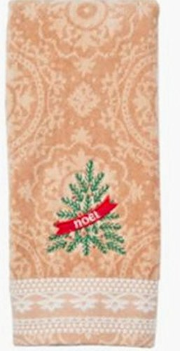 St Nicholas Square Decorative Hand Towel noel on Tree