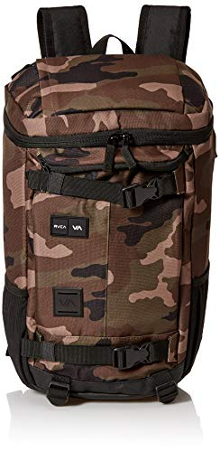41VhU3MGwcL - RVCA Men's Voyage Skate Backpack, camo, ONE SIZE