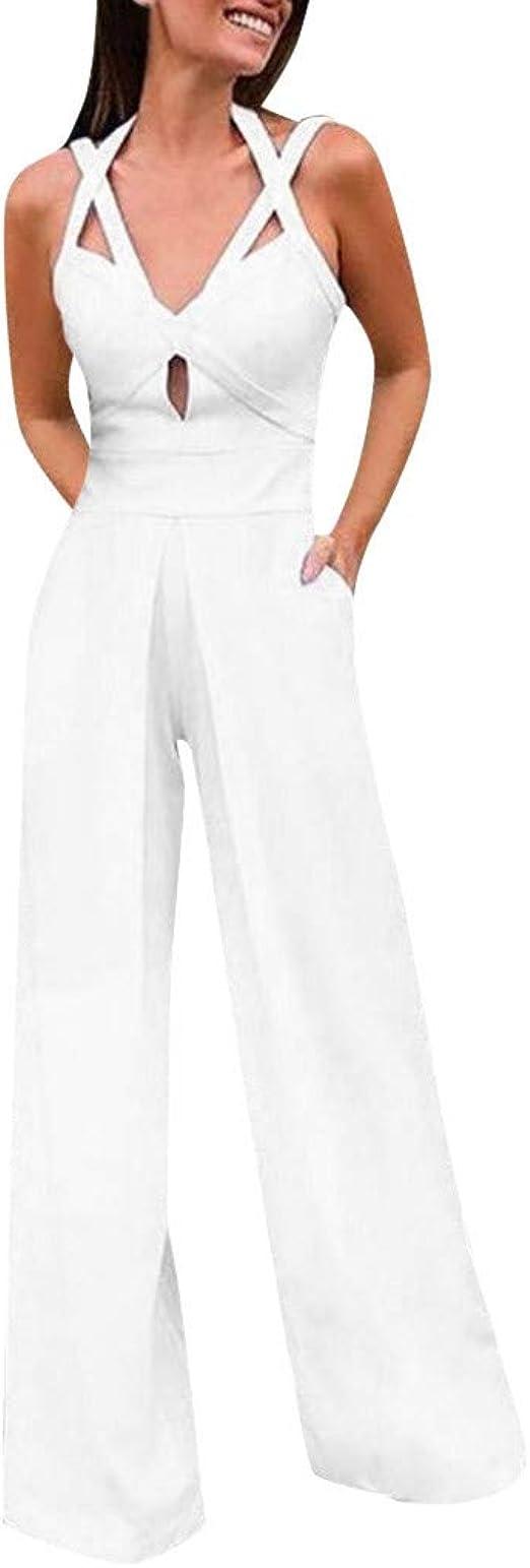 RISTHY Mujer Pantalones Largos Ajustados con Cintur/ón Pantalones Verano Mujeres Cintura Alta Pantal/ón de Oficina Color S/ólido Casual Suave C/ómodo