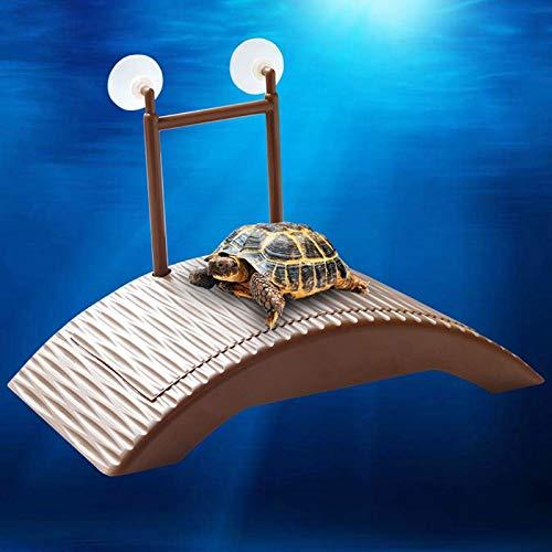 Remote Control Enclosure - Turtle Platform Automatic Adjustable Height Island Back Bask Play Toys Decoration Plastic Bridge - Frame Wood Reptile Wall Decor Dragons Habitat Snake - Enclosure Remote