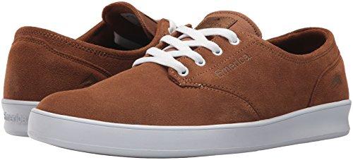 Emerica Brown 6102000082 Mixte gum Adulte white Chaussures If7rAxwqI