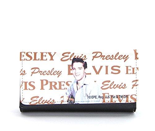 Smiling Portrait (Elvis Presley Wallet, The King Smiling Portrait, Tri-fold)