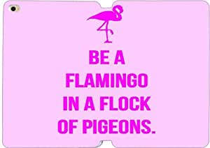 Be A Flamingo In A Flock Of Pigeons-4 iPad Mini 4 Case Leather Smart Cover With Flip Stand Protective Cover New Colorful