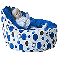 Babybooper Bean Bag, Blue Berry Burst