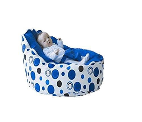 Babybooper Bean Bag, Blue Berry Burst