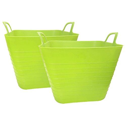 plastic tub basket - 7