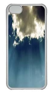 Blue Clouds Skyscape Custom iPhone 5s/5 Case Cover Polycarbonate Transparent