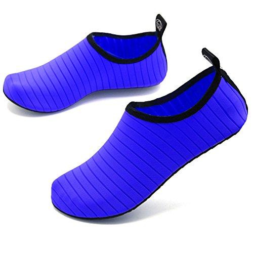 Schwimmschuhe und Leicht Strandschuhe Trocknend Casual Mädchen AGOLOD für Schnell Kinder Jungen Surfschuhe Aquaschuhe Blau Herren Badeschuhe Wasserschuhe tqRRwI6z