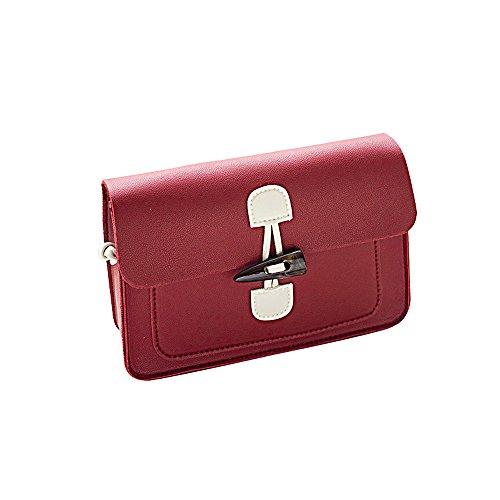 de Rojo Shopper Mujer Bolsos totes hombro Tote Bolso mujer para de Shoppers Bandolera ocio Bolsos y bolsos de mochila Bolsos Lona Bolsa bandolera FxqYBqdw
