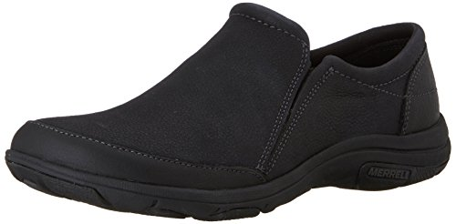 Merrell Womens Dassie Moc Slip-on Shoe Nero