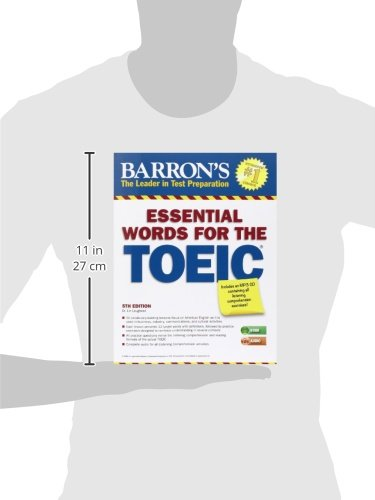 Essential Words for the TOEIC with MP3 CD, 5th Edition (Barrons Essential Words for the Toeic Test)