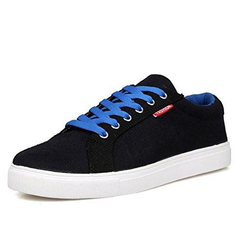Zapatos bajamar hombres/Zapatos de confort de ocio Negro