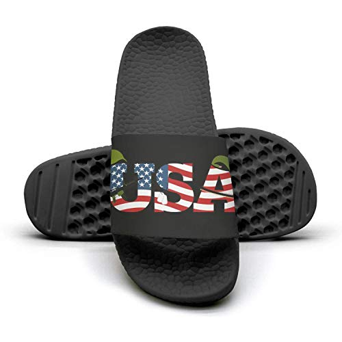 Proud u.s army gear Mens Outdoor Bath Slides Casual Slipper Fashionable Sandals