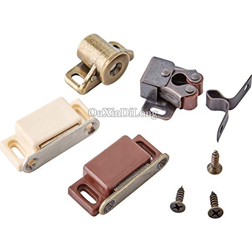 HOT 10PCS Kitchen Cabinet Catches Door Latch Clips Cupboard Cabinet Door Catches Stops Closet Wardrobe Furniture Hardware - (Color: A2) by Kasuki (Image #2)
