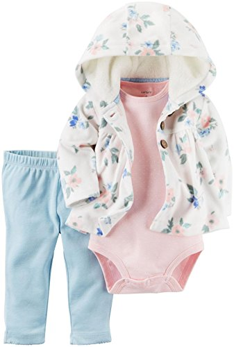 - Carter's Baby Girls' Cardigan Sets 121g780, Ivy Floral/Blue, 12M