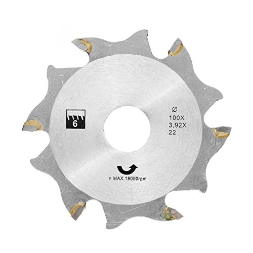Price comparison product image 100mm Saw Blade for Biscuit Jointer Woodworking Saw Blade - Tool Accessories HILDA Tool - 1 x Hilda 100mm Saw Blade