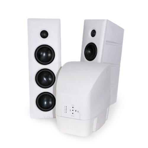 HRT White Stage Speaker System