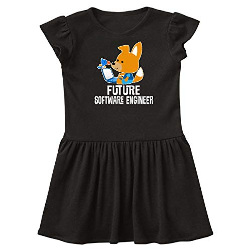 inktastic - Future Software Engineer Toddler Dress 3T Black - Future Software