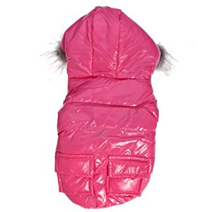 Cute Two Pocket Polyester Pet Dog Cat Hooded Jacket Coat by molona (Hot Items)