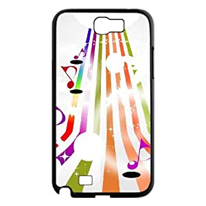 Musical notation Custom Phone Case for Samsung Galaxy Note 2 N7100,personalized Musical notation Case