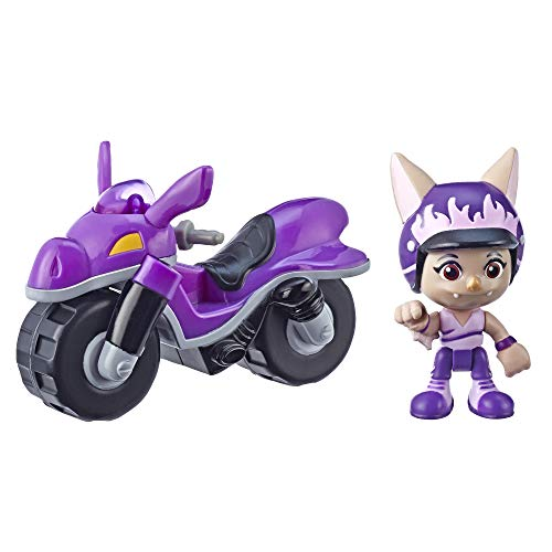 Hasbro Top Wing Figure and Vehicle Betty Bat's Dirt Bike with Removable 3-Inch Figure from The Nick Jr. Show, Great Toy for Kids Ages 3 to 5