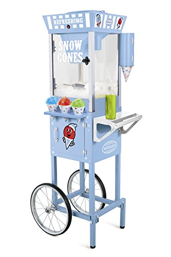 082677242204 - Nostalgia SCC200 53-Inch Snow Cone Cart carousel main 1