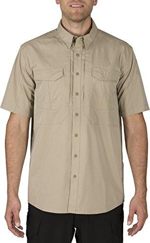 (5.11 Tactical Men's Stryke Short Sleeve Professional Polo Shirt, Flex Tac Fabric, Style 71354)