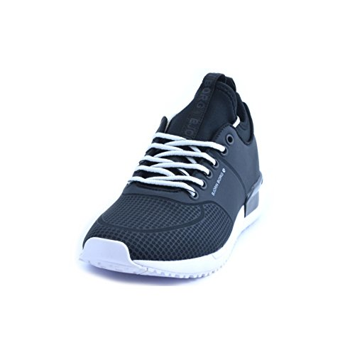 Bjorn Borg Mens R110 Low Lmt Trainers Uk 9.5 Nero