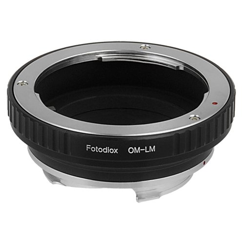 Fotodiox Lens Mount Adapter, Olympus OM Zuiko 35mm Lens to Leica M-Series Camera Fits Leica M-Monochrome