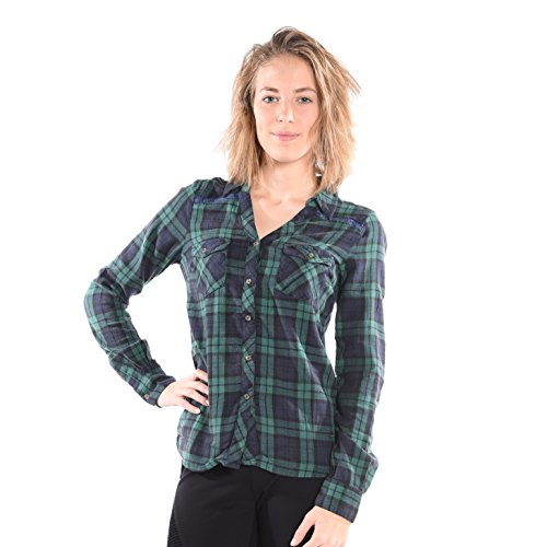 555 Soul Charlotte Blouse in Green (Blouse Charlotte)