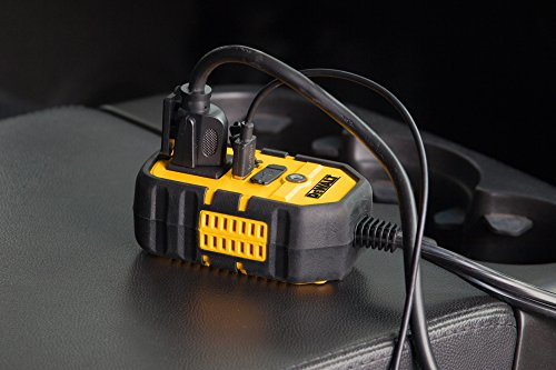 DEWALT DXAEPI140 Power Inverter 140W Car Converter: 12V DC to 120V AC Power Outlet with Dual 3.1A US - http://coolthings.us