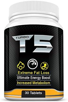 Turbo T5 Fat Burner - Cel mai puternic complex de pierdere a grăsimii T5