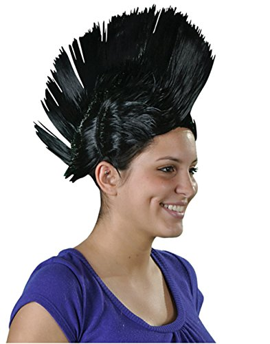 Black Mohawk Wig (2)