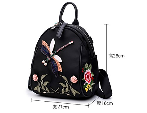 Backpack Personality Embroidery Personality Wild Backpack Xsbao Fashion Z5wv80Rq