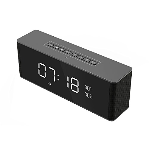 xingganglengyinNew Alarm Clock, Bluetooth Wireless Speaker, Card Call, Hands-Free subwoofer by xingganglengyin (Image #2)