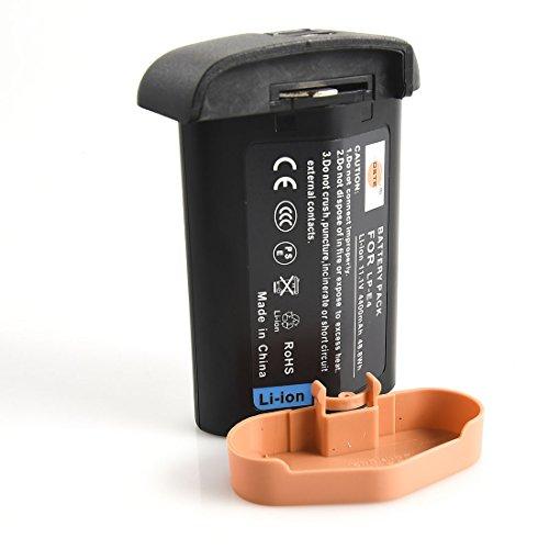 DSTE Replacement for LP-E4 Li-ion Battery Compatible Canon EOS-1D C EOS-1D Mark III IV EOS-1Ds Mark III IV Digital Camera (Lp E4 Replacement)